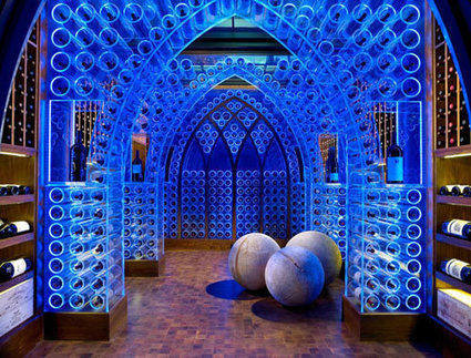 LED Wine Cellar by Jamie Beckwith | Harmony Design, Art, and Science | Scoop.it