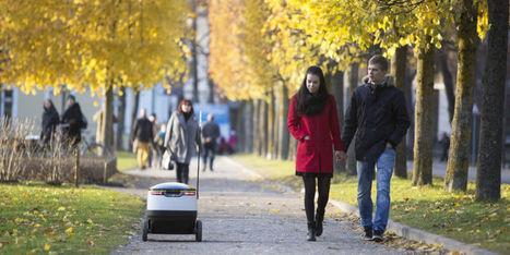 Premiers vrais essais pour le robot livreur de Starship Technologies | La Transition sociétale inéluctable | Scoop.it