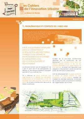 Cahier de l'innovation urbaine n°8 : La Maison du Marais | Publications - Agence d'Urbanisme de Saint-Omer | Scoop.it