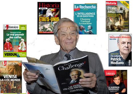 A 89 ans, Claude Perdriel, PDG de Challenges, prépare encore l'avenir | DocPresseESJ | Scoop.it
