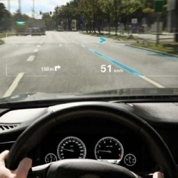 Augmented Reality May Be Coming To A Car Windshield Near You | AR | Scoop.it