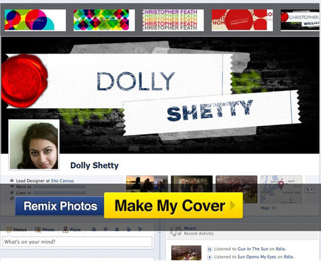 how to customize facebook cover photos | omnia mea mecum fero | Scoop.it