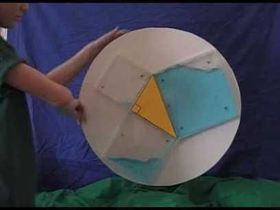 Algunas demostraciones curiosas del Teorema de Pitágoras para trabajar en el aula | MATEmatikaSI | Scoop.it