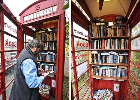 New UK Library Fits Within a Phone Booth | Outils et  innovations pour mieux trouver, gérer et diffuser l'information | Scoop.it