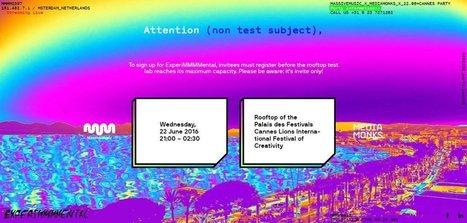 MassiveMusic & MediaMonks x Party Cannes   Web Design Inspiration   Web design inspiration   Scoop.it