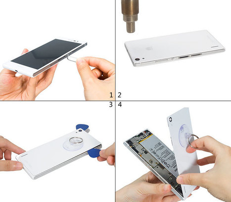 How to replace Huawei Ascend P7 back cover easily? | Smartphone DIY Repair Guide | Scoop.it