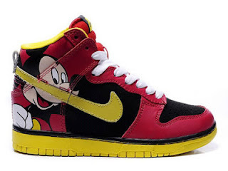 Mickey Mouse Nike Dunks High SB Shoes Women Men Nike Dunks Mickey Mouse High Tops Sneakers For Sale | Mickey Mouse Nike Dunks | Scoop.it