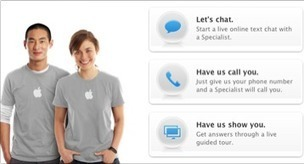 Genius bar: Apple specialists now online to answer questions - Mac - Macworld UK   Customer Service Case Study - Apple   Scoop.it