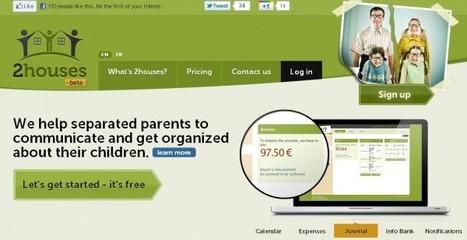 2houses, aplicación informática que ayuda a la comunicación entre progenitores separados. | Cuidando... | Scoop.it