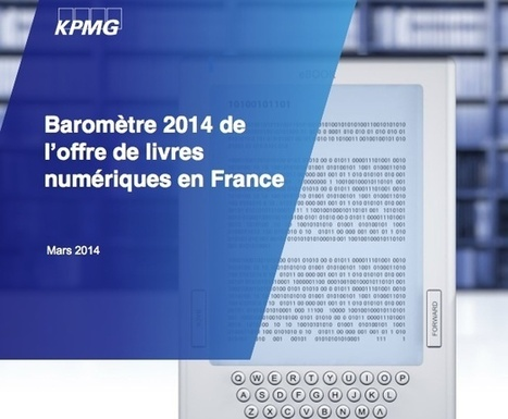 Baromètre : Panorama 2014 de l'offre de livres numériques en France | io | Scoop.it
