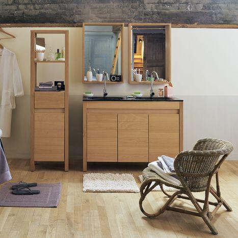 La pièce d'eau joue la carte de la déco grâce aux meubles de salle de bains | La décoration par Maison Blog | Scoop.it