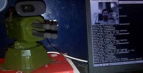 Face Tracking with OpenCV and a USB Missile Launcher - AlexNisnevich.blog | Python-es | Scoop.it