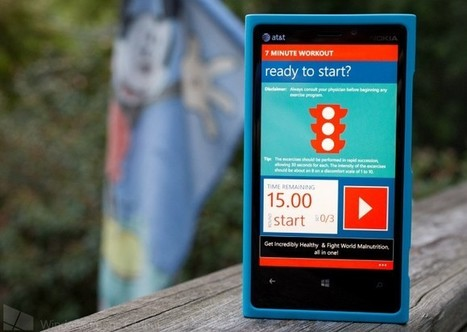 7 Minute Workout for Windows Phone 8, high impact training in no time at all | Windows Phone Central | Programming - WP | Scoop.it