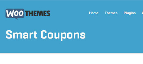 WooCommerce Smart Coupons Extension | Download Free Full Scripts | H-tags | Scoop.it