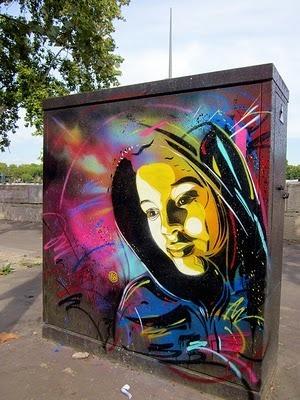 C215 New Street Piece In Paris, France Your Ultimate Street Art News Site | Altland Paris | Scoop.it