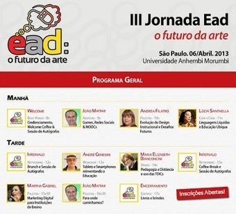 III Jornada Ead acontece dia 6 de abril, em SP, compartilhando conhecimento a partir de talk shows   Science, Technology and Society   Scoop.it