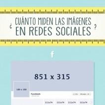¿Cuánto miden las imágenes en redes sociales? | Visual.ly | Informatica | Scoop.it