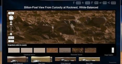 Pasea por Marte con esta fotografía de 1300 millones de pixeles   Recull diari   Scoop.it
