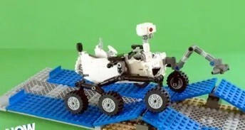 The Charming Lego Mars Rover (VIDEO) | STEM Connections | Scoop.it
