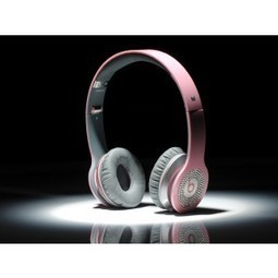 Beats by Dr. Dre Solo Diamond White Headphones Pink MB196 | cheapbeatsbydrdreonline | Scoop.it