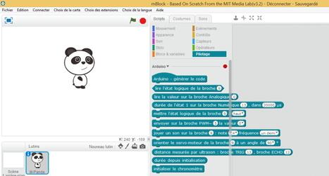 Espace pédagogique : STI - des blocs Scratch convertis en code Arduino | Ressources pour la Technologie au College | Scoop.it