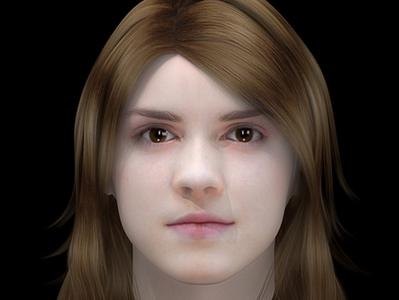 Visage hermione en 3D | 3D Library | Scoop.it