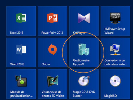 Installer Hyper-V sur Windows 8 (outil de virtualisation) | formation 2.0 | Scoop.it