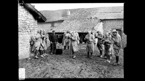 La bataille de Verdun dans les collections de l'ECPAD : Vie quotidienne | Chroniques du centenaire de la Première Guerre mondiale : revue de presse | Scoop.it
