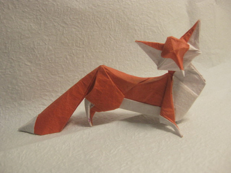 Fox (Hoang Tien Quyet) | Made with (and of) Paper | Scoop.it