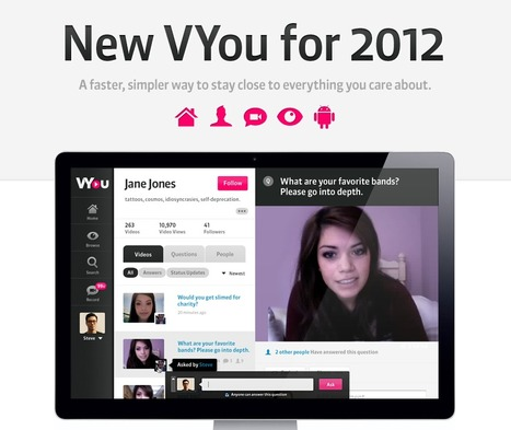 VYou - Social Video; easy to record, share your knowledge and experience | KgTechnology | Scoop.it