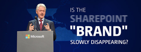 """Is the SharePoint """"brand"""" slowly disappearing? My SPC14 experience 
