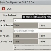 Bumblebee Configurator GUI: Front-End for the Bumblebee Configuration Files | Ubuntu Portal | Ubuntu Desktop | Scoop.it