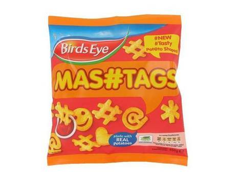 Social media gone too far? Birdseye launches hashtag-shaped potato smileys | ThinkinCircles | Scoop.it