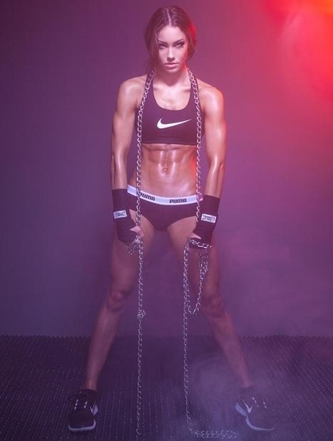 Rising Star: Fitness Model Stephanie Davis Talks With Simplyshredded.com | SimplyShredded.com | Muscle Fitness | Scoop.it