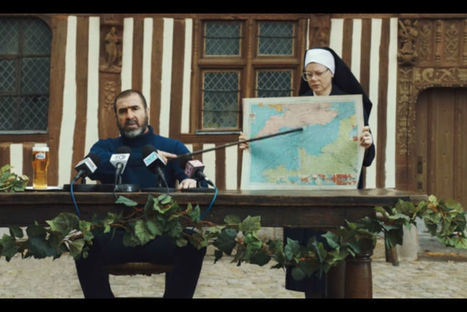 Publicité : Cantona traverse (presque) la Manche pour Kronenbourg [Vidéos] | Mass marketing innovations | Scoop.it
