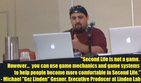 New World Notes: Linden to Add Game Mechanics to SL's New User Experience | Second Life Community Convention 2011 | Scoop.it