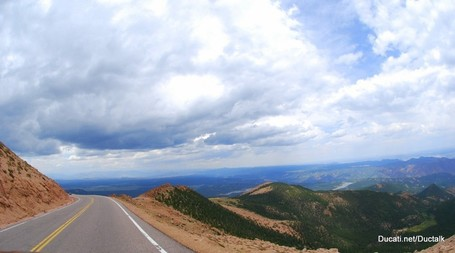 Pikes Peak, Saturday - The Mountain | Ductalk | Scoop.it