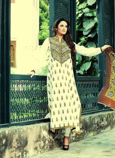 Mausummery  Stylish Dress Collection on Eid-ul-Adha  2013 (7) | fashion | Scoop.it