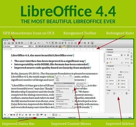 LibreOffice 4.4 soigne son look | Bureautique pratique | Scoop.it