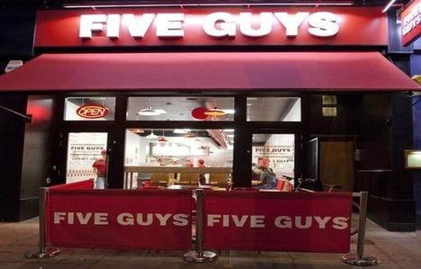Fast-Food: Five Guys continue de préparer son débarquement à Paris - 20minutes.fr   Gastronomie Française 2.0   Scoop.it