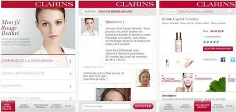 La Stratégie Digitale de Clarins | Web and mobile marketing - cosmetics | Scoop.it