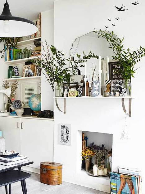 10 Out Of The Box Ideas To Use Shelf Brackets | Home Decor | Scoop.it