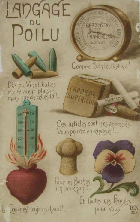 L'argot du poilu - Chroniques de la Grande Guerre - Les Archives du Pas-de-Calais | Nos Racines | Scoop.it