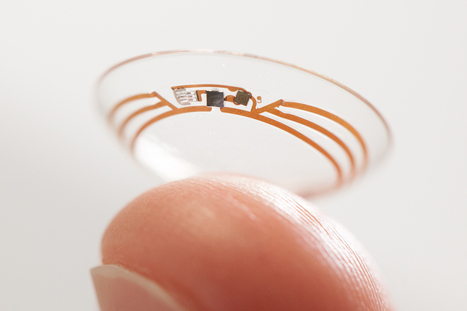 Google Smart Contact Lens Focuses On Healthcare Billions | healthcare technology | Scoop.it