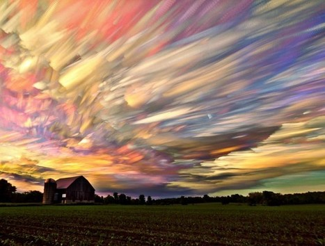 Smeared Sky Photography « Airows | What Surrounds You | Scoop.it