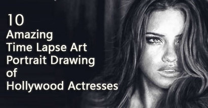 Watch 10 Mesmerizing Time Lapse Art Portrait Drawing of Women | Top Five of Any thing | Scoop.it