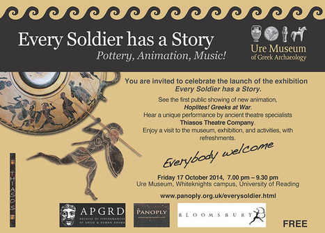 Every Soldier has a story _ Ure Museum of Greek Archaeology_University of Reading UK   Classics Today   Scoop.it