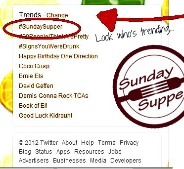 #SundaySupper trending #1 on Twitter | Annie Haven | Haven Brand | Scoop.it