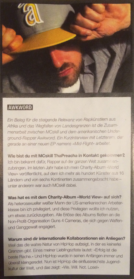 Germany's Juice Magazin Features AWKWORD in Print Ed. #173   AWKWORD   Important, Re AWKWORD   Scoop.it
