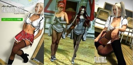 3d Model Art Zone: 3d Models Art Zone - Render Studio Modular 1-4 + Scenes for Poser | 3d Models | Scoop.it
